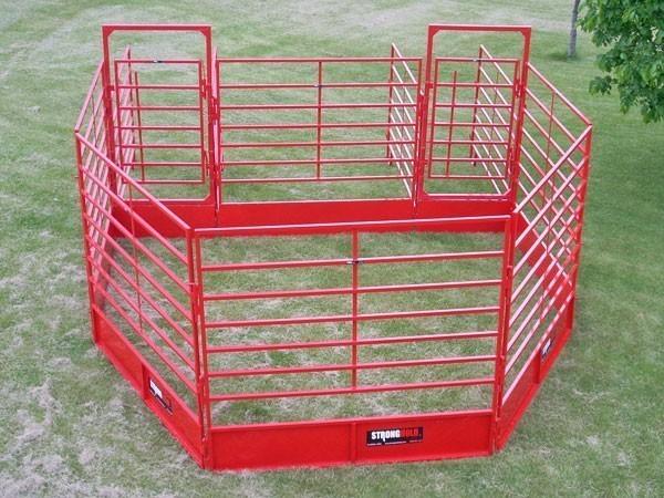 Portable Sale Ring, Cattle Handling Equipment