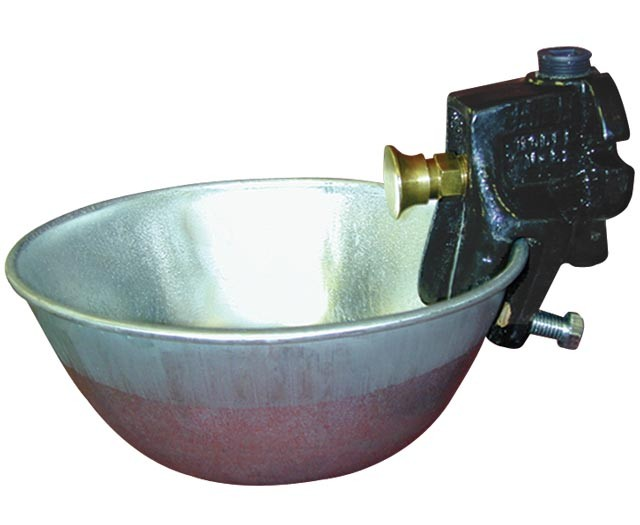 Push-Button Waterer w/ Galvanized Bowl (M81) Replacement Parts