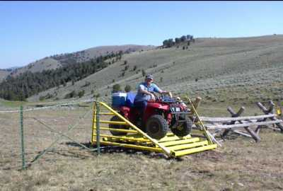 ATV Cattle Guards