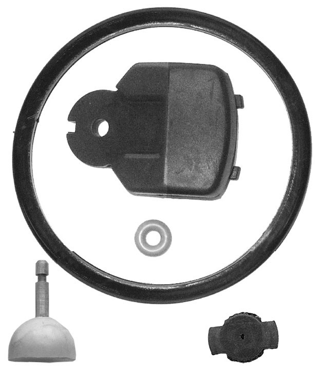 Rubber Parts kit for Kleen Flo 300 Milking Unit with shutoff