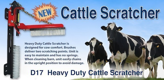 Heavy Duty Cattle Scratcher