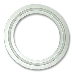 White Flanged Gasket--2""