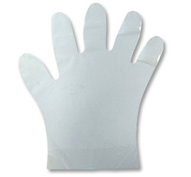 Large Wrist-Length Glove--Ctn/100