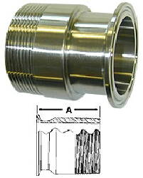 Adapter (Clamp/Thread)--3""