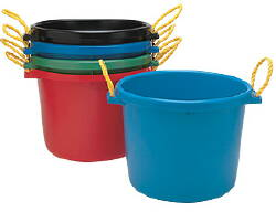 Blue Muck Bucket