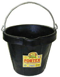Fortex 12 Qt. Rubber Pail - Case of 12