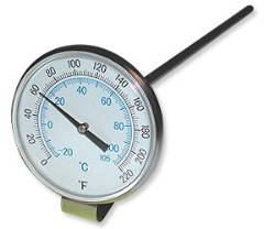 Dial-Type Liquid Thermometer