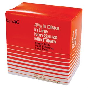 "KenAg 4-9/16"" In-Line Disk--36 Boxes of 100"