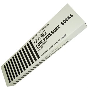 "KenAg 2-1/4""x5-1/2"" Low Pressure Sock--12 Boxes of 100"