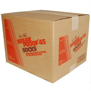 "KenAg 2-1/4""x12"" Breakproof Sock--12 Boxes of 100"