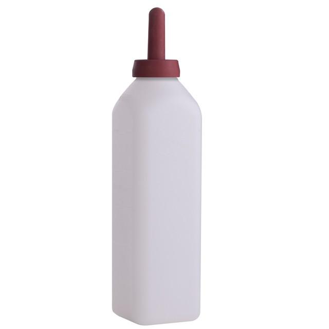 Miller Calf Bottle W Snap On Nipple 3 Qt Nursing
