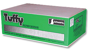 "Schwartz 2-1/4""x12"" Tuffy Filter Socks--12 Boxes of 100"