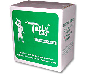 "Schwartz 2-1/4""x6"" Tuffy Filter Socks--10 Boxes of 100"