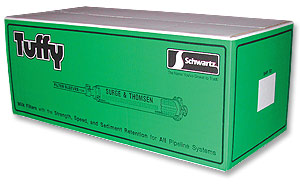 "Schwartz 4-7/8""x36"" Tuffy Filter Tubes--9 Boxes of 50"