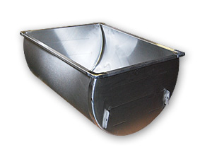 "33.5"" ""Gallon Deep"" Single SS Sink"