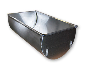 "43.5"" ""Gallon Deep"" Single SS Sink"