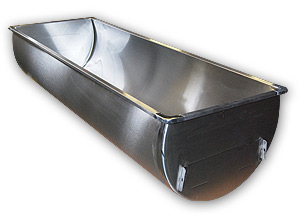 "63.5"" ""Gallon Deep"" Single SS Sink"