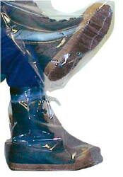 4 mil Extra Large Boots w/ Ties--Ctn/50