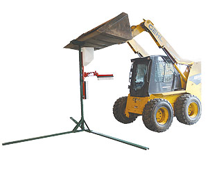 Portable Cattle Oiler Stand