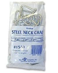 Plated Cow Neck Chain--Bagged