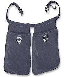 "Dynamic Duo 2-Bag Apron w/ 2"" Belt"