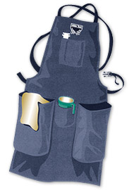 Full Apron w/Two Pockets--Large