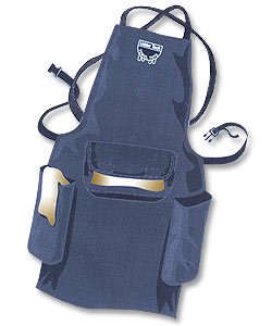 Towel Tote Apron w/Criss-Cross Straps--Waterproof