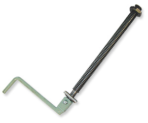 Threaded Handle & Nut f/ Rear Hiplift