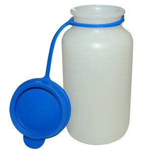 Replacement 200 ML Bottle & Cap for Ambic Milk Sampler