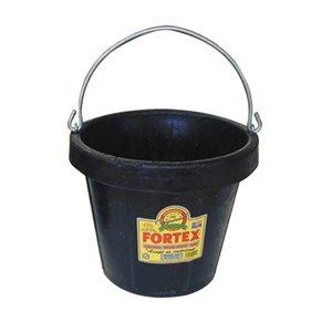 Fortex Rubber 8 Qt. Pail - EA or CS12