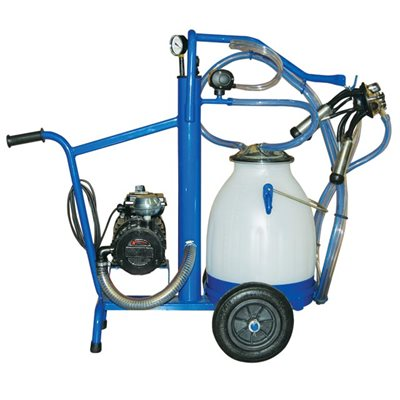EcoMilker Base Unit Electric 3/4 HP for ONE Bucket
