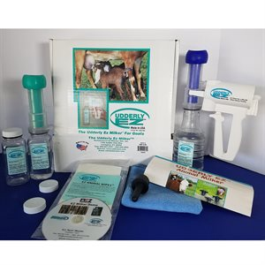 Udderly EZ Goat Milker Kit - Colostrum Collector