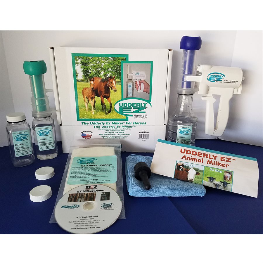 Udderly EZ Mare Milker Kit - Colostrum Collector