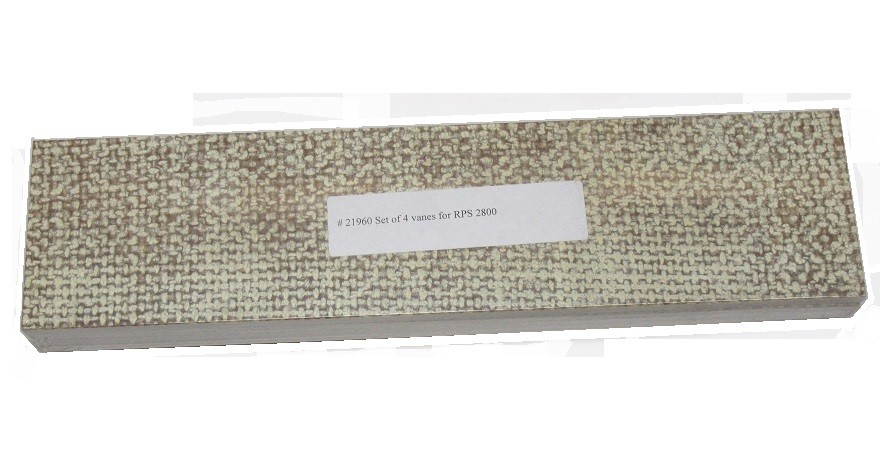 Westfalia RPS 2800 Replacement Vanes -- Set of 4