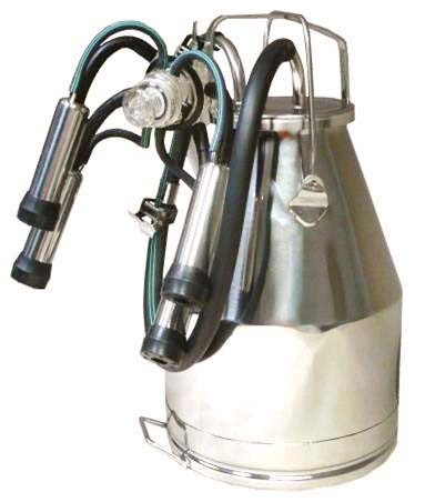 NuPulse Stainless Bucket Assembly - with Standard Cow Claw