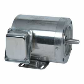 "1.5HP, 3 Phase SS Washguard Motor, 56H Frame, w / 5 / 8"" Shaft"