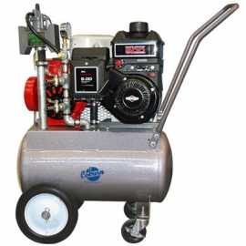 PortaMilker II Base Kit w / 6.5 HP Gas Engine for ONE Bucket