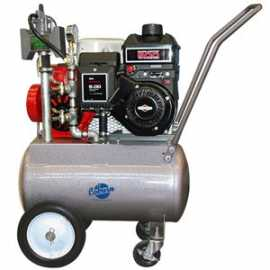 PortaMilker II Base Kit w / 6.5 HP Gas Engine for TWO Buckets
