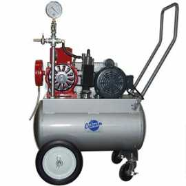 PortaMilker II w / 1 HP Electric Motor for Two Buckets