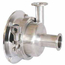 "4"" B-Style milk pump assembly, complete less motor"