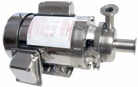 "4"" B-Style milk pump with 1 HP Sterling Stainless motor"