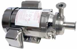 "4"" B-Style milk pump with 1 HP Sterling Washdown motor"