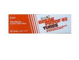 "KenAg 4-7/8""x17"" Breakproof Tube--10 Boxes of 50"