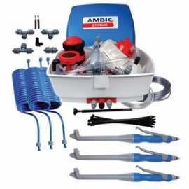 Ambic Jetstream Teat Sprayer w/3 Solid Cone Guns