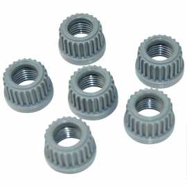 Connector Nuts f/ Ambic Teat Sprayer--Pk/6