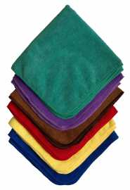 "Microfiber & More 16""x16"" Towel - CS"