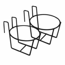Double Unit Pail Holder f/ Use on 2x4 - BULK DISCOUNTS!