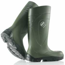 StepliteX Bekina Steel Toe Cap Green Boots