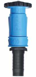 "Anka Large Wash Down Nozzle w/1-1/2"" Hose Tail"