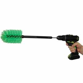 Nursing Bottle Brush f / Cordless Drill